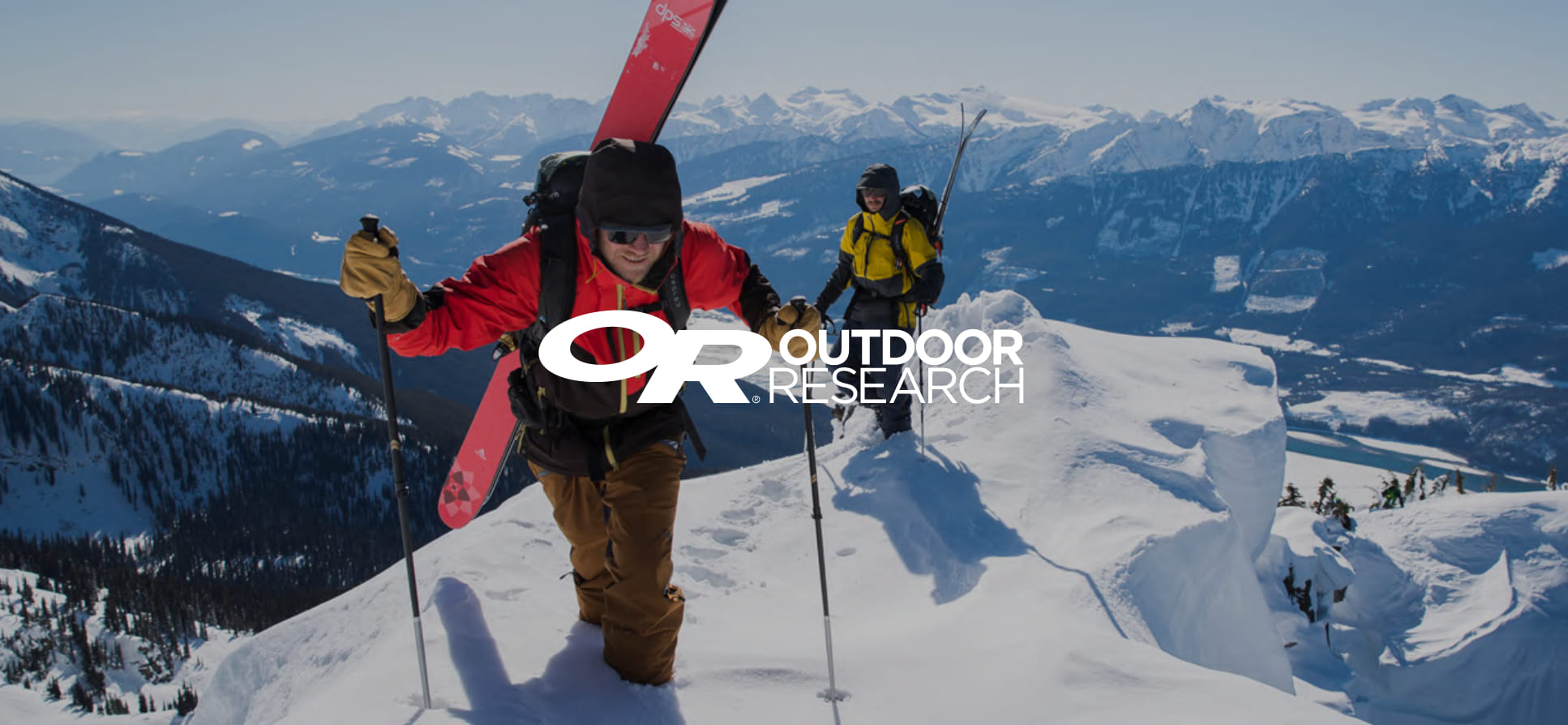 outdoor research hero background - referral program talkable