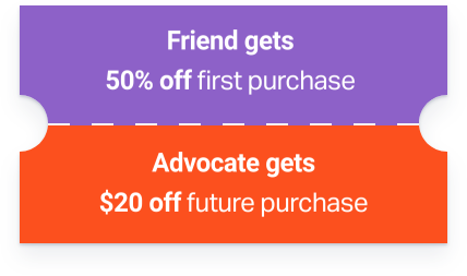 timeline coupon chart pura-vida - referral program talkable
